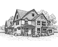 Floor plans for Southern charm house plans