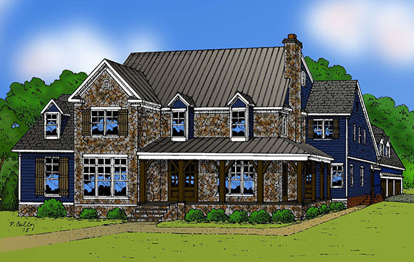 Southern traditions homes robert carter custom builder for Southern custom homes