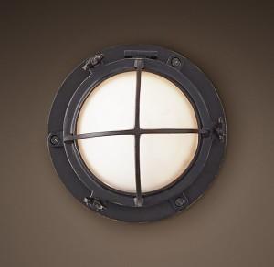 porthole sconce