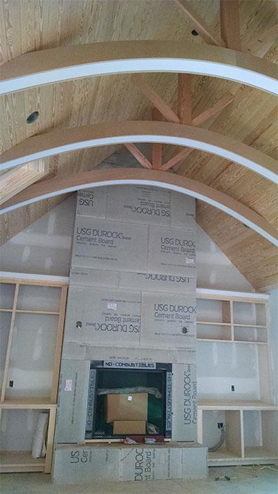 NS curved beams